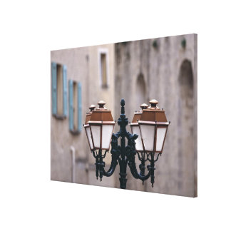 Europe, France, Forcalquier. Old weathered Canvas Print