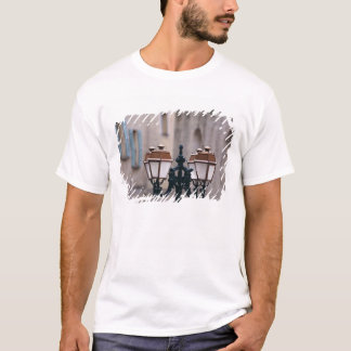 Europe, France, Forcalquier. Old weathered T-Shirt