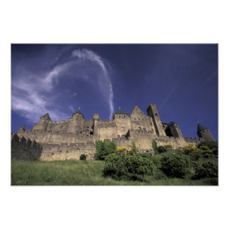 Europe, France, Languedoc; Aude; Carcassonne, Poster