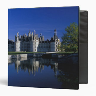 Europe, France, Loire Valley. Chateau Chambord 3 Ring Binder