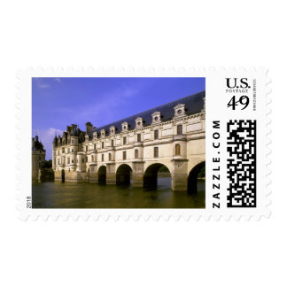 Europe, France, Loire Valley. Chateau Postage