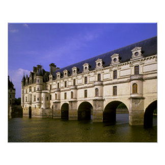 Europe, France, Loire Valley. Chateau Poster