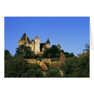 Europe, France, Montforte. The medieval castle Card