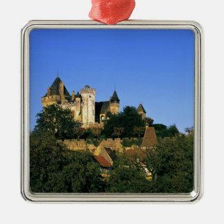 Europe, France, Montforte. The medieval castle Ornament