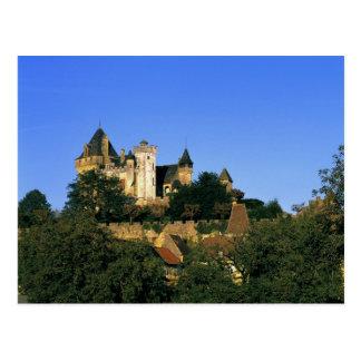 Europe, France, Montforte. The medieval castle Post Cards