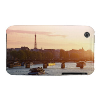 Europe, France, Paris (75), Tourist Boat on iPhone 3 Cover