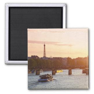 Europe, France, Paris (75), Tourist Boat on Magnet