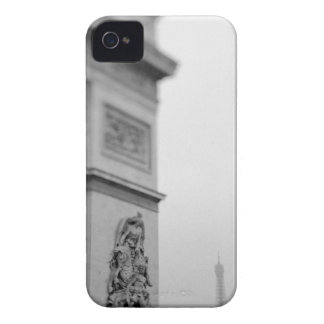 Europe, France, Paris. Arc de Triomphe and 2 Blackberry Bold Cover