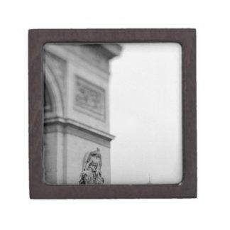 Europe, France, Paris. Arc de Triomphe and 2 Premium Trinket Boxes