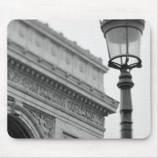 Europe, France, Paris. Arc de Triomphe and Mouse Pad