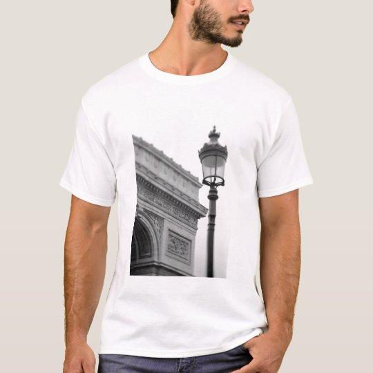 Europe, France, Paris. Arc de Triomphe and T-Shirt