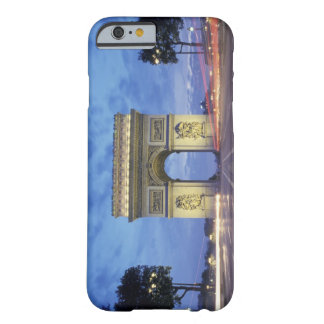 Europe, France, Paris. Arc de Triomphe as viewed Barely There iPhone 6 Case
