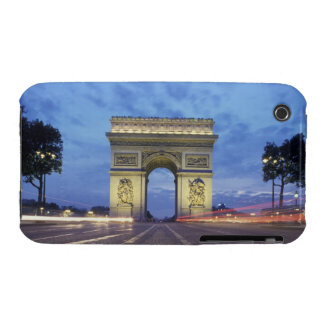 Europe, France, Paris. Arc de Triomphe as viewed Case-Mate iPhone 3 Case