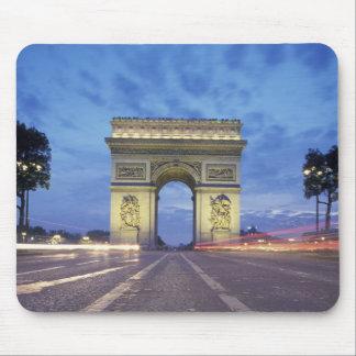 Europe, France, Paris. Arc de Triomphe as viewed Mouse Pad