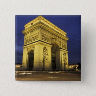 Europe, France, Paris. Arc de Triomphe Button