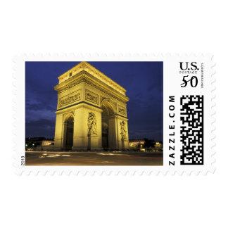 Europe, France, Paris. Arc de Triomphe Postage