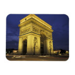 Europe, France, Paris. Arc de Triomphe Rectangular Photo Magnet
