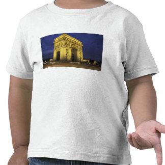 Europe, France, Paris. Arc de Triomphe Tshirts