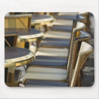 Europe, France, Paris, Beaubourg: Cafe Tables / Mouse Pad