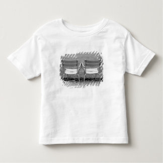 Europe, France, Paris. Chairs, Jardin du 2 Toddler T-shirt