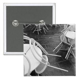 Europe, France, Paris. Chairs, Jardin du 4 Button