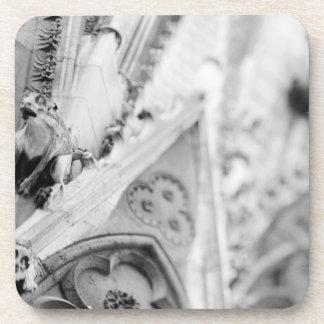 Europe, France, Paris. Detail: sculpture on Coaster