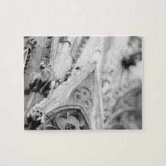 Europe, France, Paris. Detail: sculpture on Jigsaw Puzzle