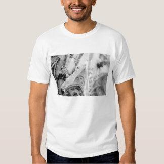 Europe, France, Paris. Detail: sculpture on T Shirt