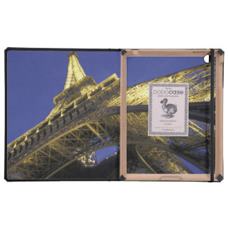 Europe, France, Paris, Eiffel Tower, evening 2 Covers For iPad