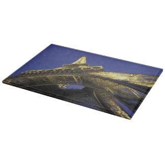 Europe, France, Paris, Eiffel Tower, evening 2 Cutting Board