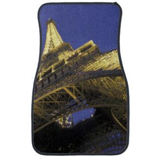 Europe, France, Paris, Eiffel Tower, evening 2 Floor Mat