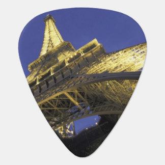 Europe, France, Paris, Eiffel Tower, evening 2 Guitar Pick
