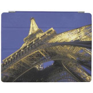 Europe, France, Paris, Eiffel Tower, evening 2 iPad Cover