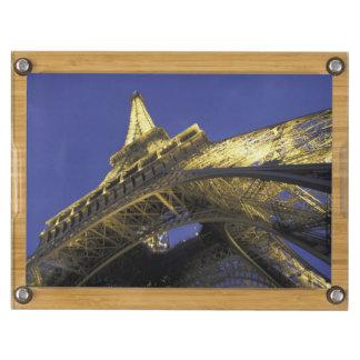 Europe, France, Paris, Eiffel Tower, evening 2 Rectangular Cheese Board