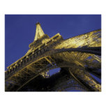 Europe, France, Paris, Eiffel Tower, evening 2 Poster