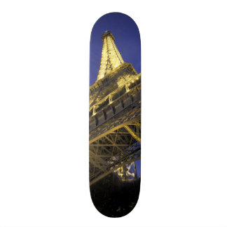 Europe, France, Paris, Eiffel Tower, evening 2 Skateboard Deck