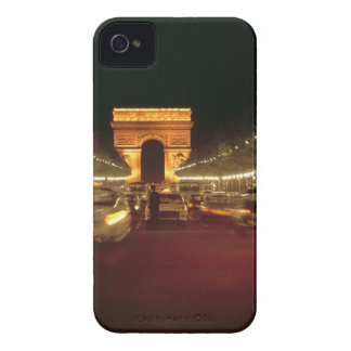 Europe, France, Paris. Evening traffic rushes iPhone 4 Cover