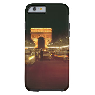 Europe, France, Paris. Evening traffic rushes Tough iPhone 6 Case