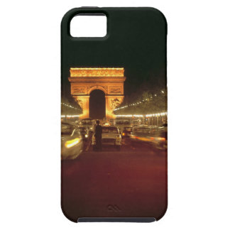 Europe, France, Paris. Evening traffic rushes iPhone SE/5/5s Case