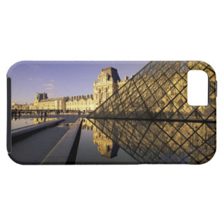 Europe, France, Paris. Le Louvre and glass iPhone 5 Cases