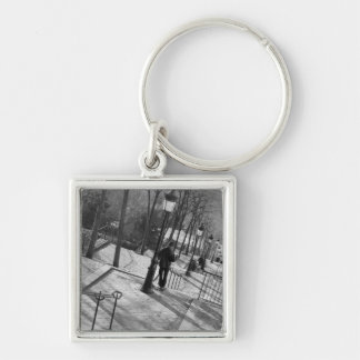 Europe, France, Paris, Montmartre: Morning on Keychain