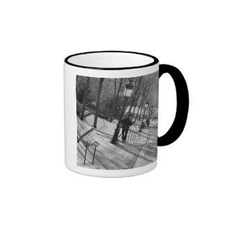 Europe France Paris Montmartre Morning on Mugs