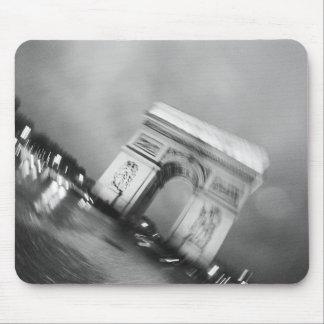 Europe, France, Paris. Spinning Arc de Triomphe Mouse Pad