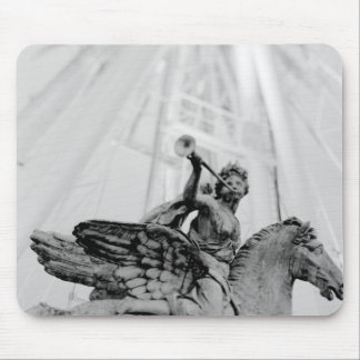 Europe, France, Paris. Statue and Ferris Wheel, 2 Mouse Pad