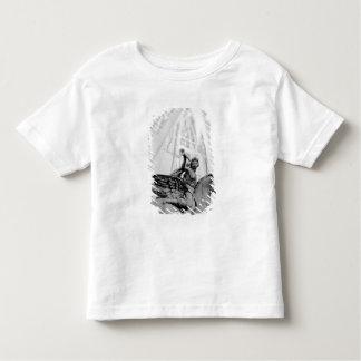 Europe, France, Paris. Statue and Ferris Wheel, 2 Toddler T-shirt