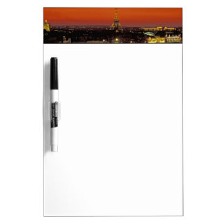 Europe, France, Paris. Sunset view of Eiffel Dry Erase Board