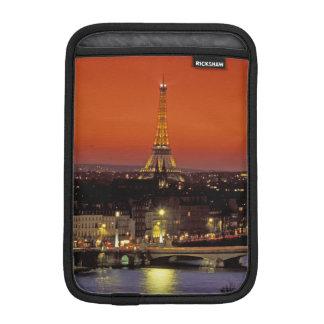 Europe, France, Paris. Sunset view of Eiffel iPad Mini Sleeve