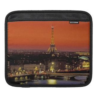 Europe, France, Paris. Sunset view of Eiffel iPad Sleeves