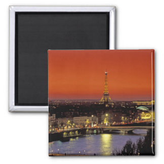 Europe, France, Paris. Sunset view of Eiffel Magnets
