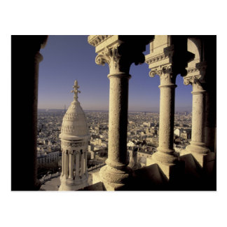 Europe France Paris View of Paris through Postcards